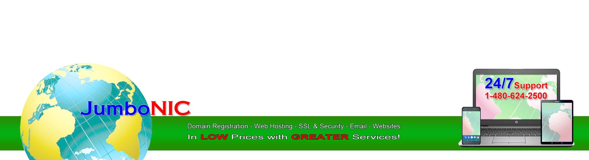 JumboNIC Web Hosting